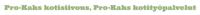 Pro-Kaks kotisiivous, Pro-Kaks kotityöpalvelut logo